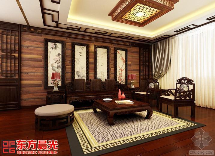 中装修设计之传统别墅设计图