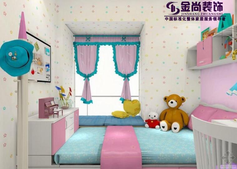 最爱的儿童房榻榻米装修设计
