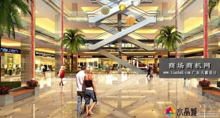 商场图片,商场装修图片——浙江杭州水晶城购物中心效果