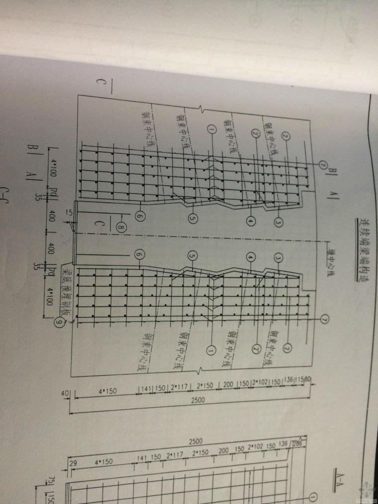 关于预制T梁钢板预埋的问题