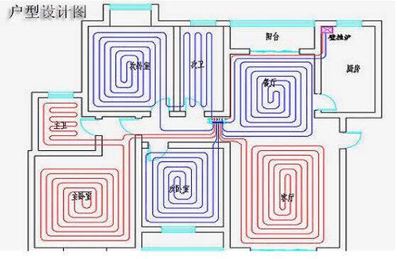 多图详解:地暖安装流程现场展示图
