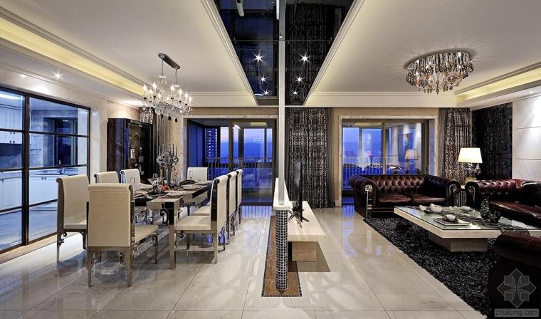 唐玛国际设计•豪宅别墅作品鉴赏——弦动香凝
