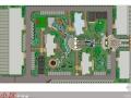[工程实录]利达广场园林景观施工现场