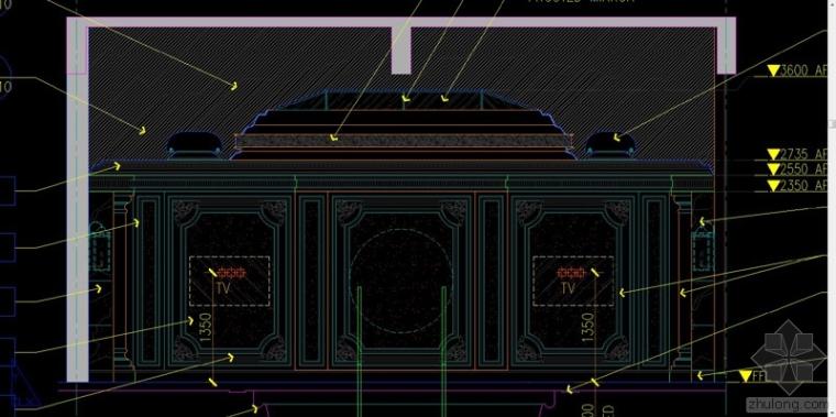 HBA--宁波1500平米总裁别墅顶级设计全套施工图+方案概念效果图