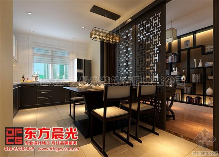 新中式别墅装修设计案例雅韵浓