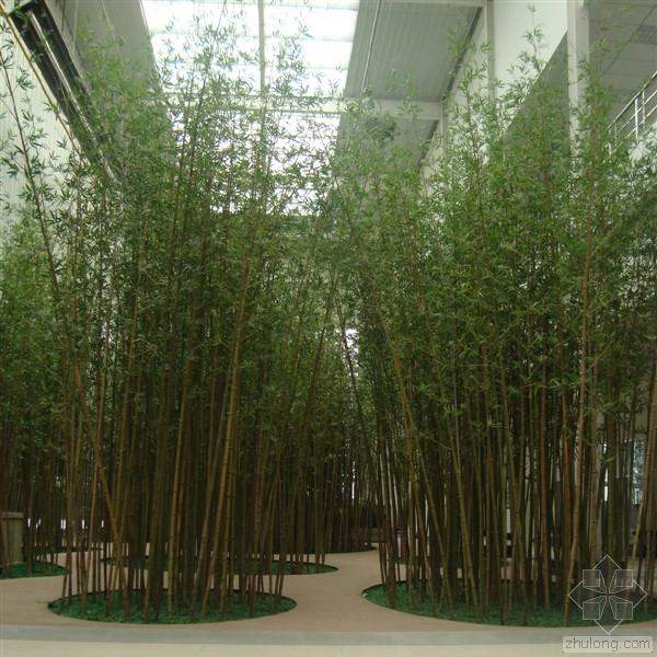 仿真竹子的基座做法,与基座如何连接