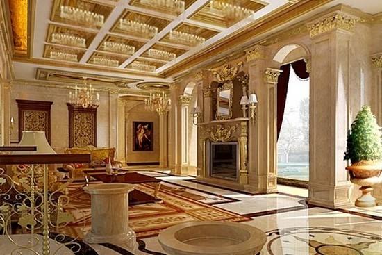 67-欧式古典风格别墅装修效果图