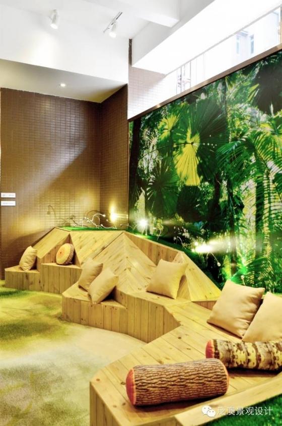 超有爱的架空层设计——路劲·花都隽悦豪庭三期展示区园林景观_15
