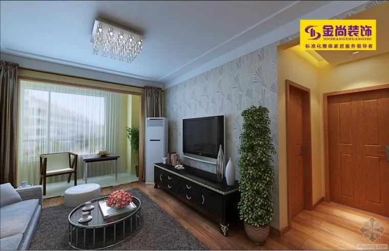 中海国际87平家庭装修设计
