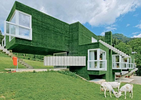 来看看优秀的节能建筑设计理念