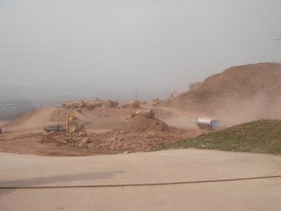别人家的路桥工程如何控制扬尘污染源