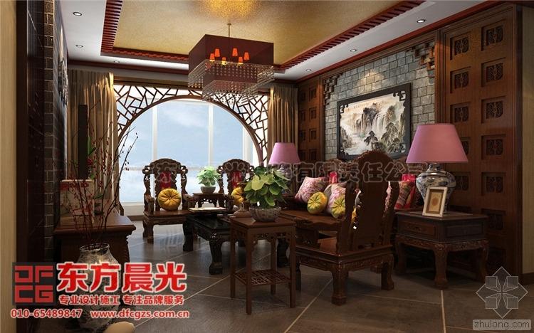 图文欣赏-古典中式别墅装修设计风采迷人