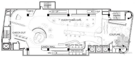 谁知道芭比娃娃旗舰店这个平面图在哪下载