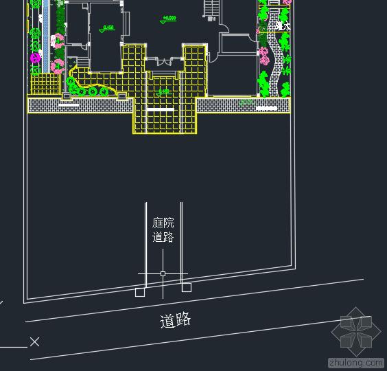 如何放置庭院大门与围墙且站与门外不影响视觉