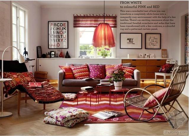 或复古或缤纷 那些恣意的客厅装修