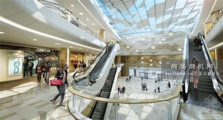 珠海购物中心设计效果图这边看:华发商都购物广场效果图