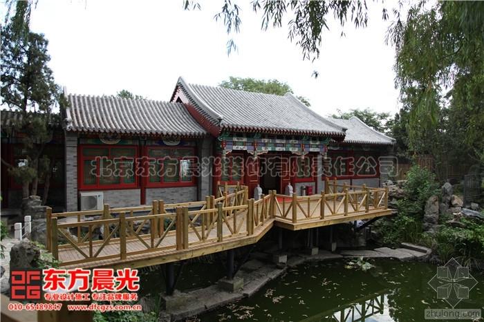 震撼人心的中式仿古建筑设计古建装修案例欣赏