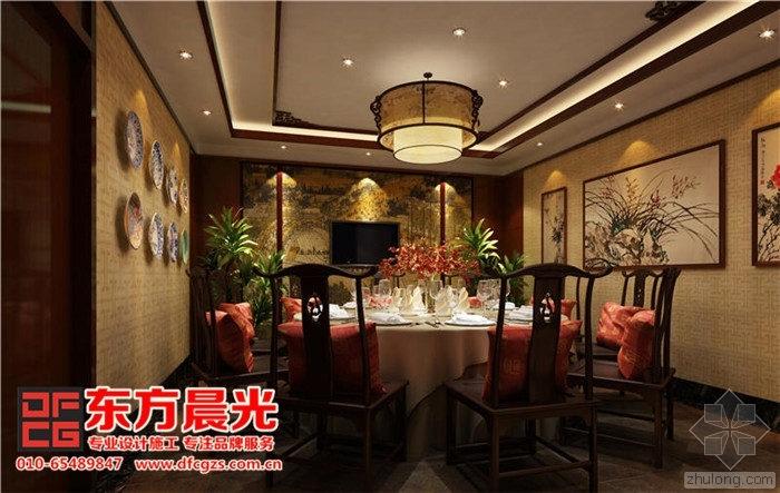 古典高雅中式饭店设计效果图欣赏