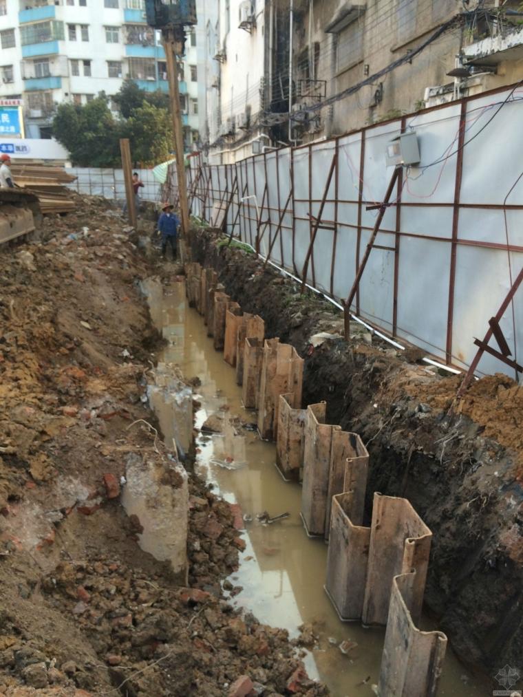 拉森钢板止水桩  水泥搅拌桩—找卓崛建筑13537690911