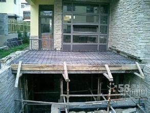 北京昌平区旧别墅改造施工底商跃层搭建阁楼室内做钢结构隔层二层