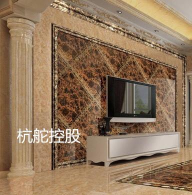 如何仿大理石线条设计出一个美丽独特而且又经济的大理石电视墙