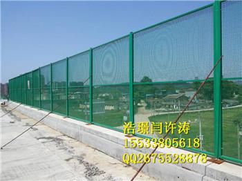 高速公路桥梁防抛网的现场应用
