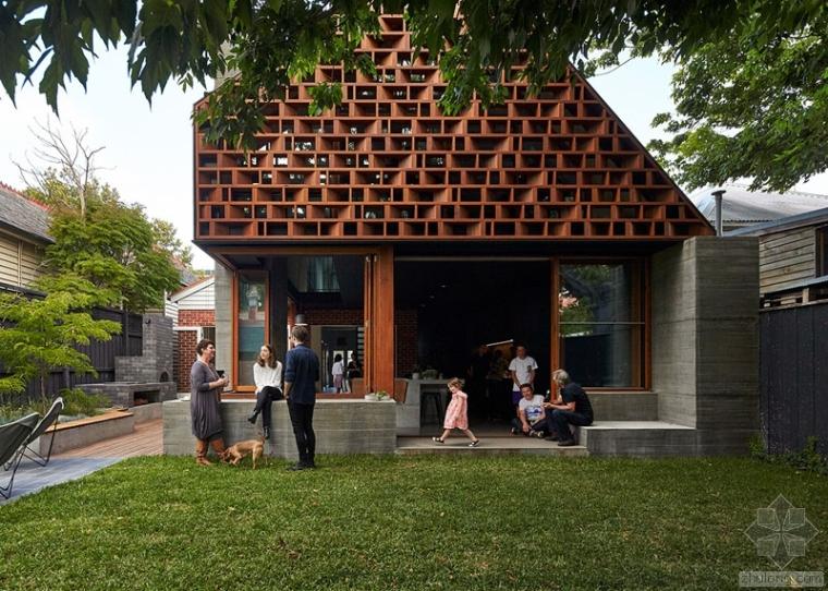 澳大利亚墨尔本住宅建筑设计 By MAKE建筑事务所