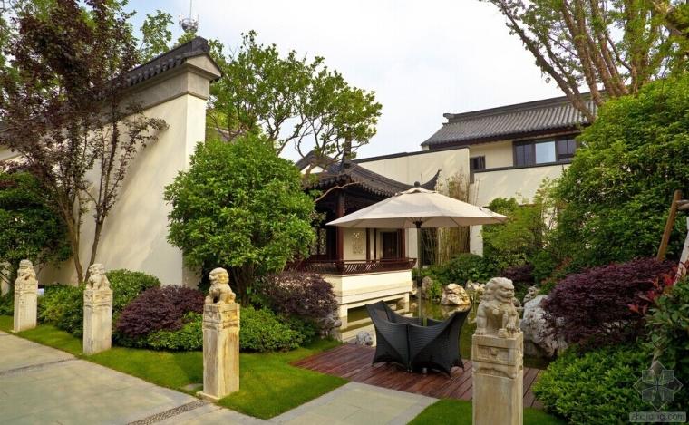 """别墅庭院独特设计 缔造""""天人合一""""的梦中园林"""
