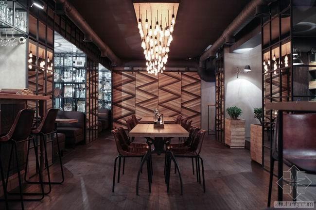 俄罗斯混搭风Barco餐厅酒吧 / Ample Studio