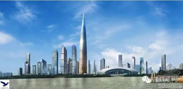 """""""春笋""""型地上66层框架-核心筒结构超高层办公建筑"""
