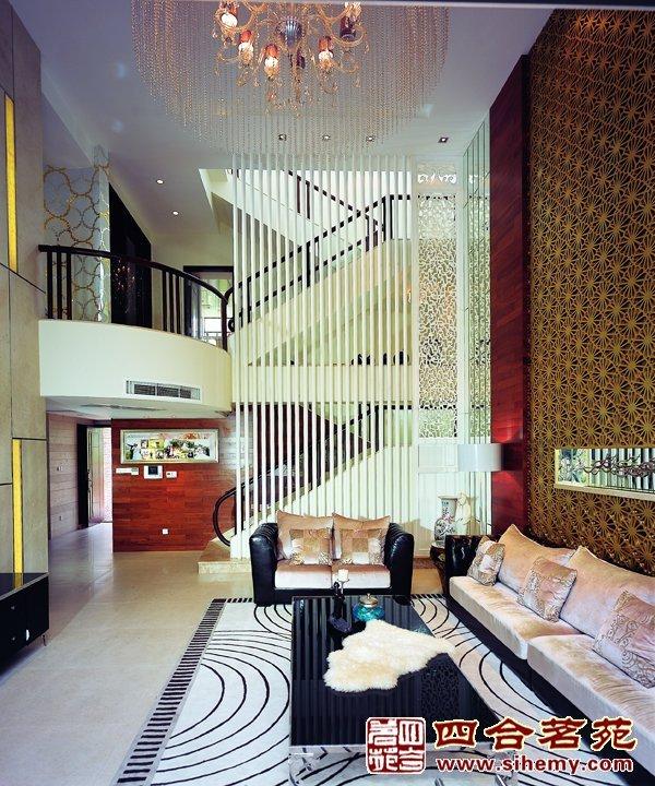 现代中式别墅装修案例
