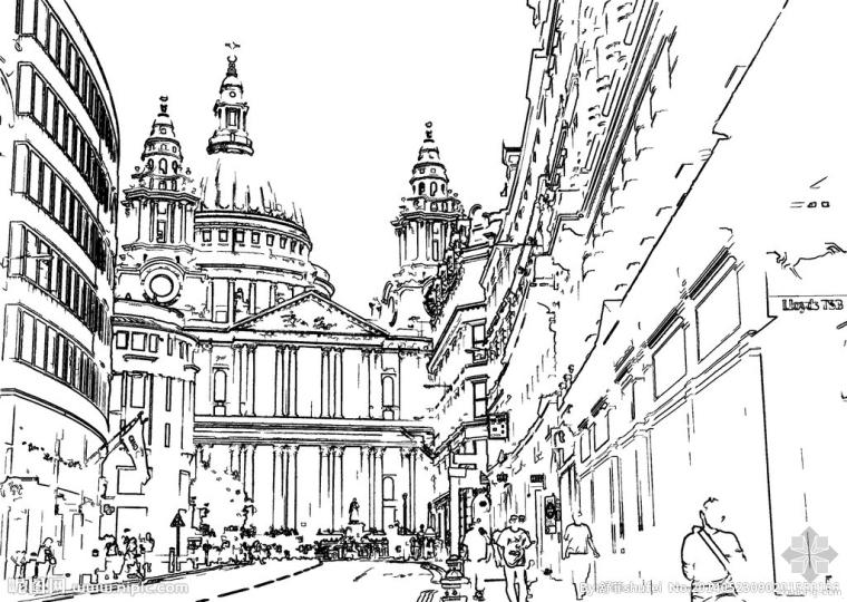 建筑手绘表现技巧