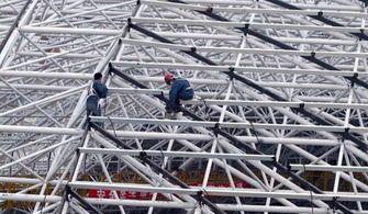 如何做好钢网架结构的涂装施工—山东钢结构公司