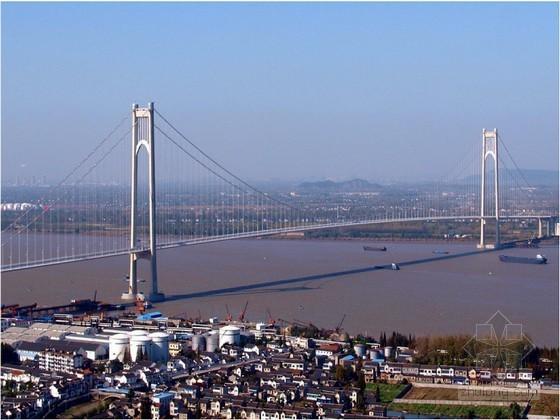 中国第一自锚悬索桥抚顺万新大桥竣工图