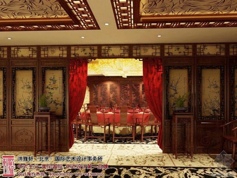 古典风格的政法委包间装修 高端豪华优雅大气