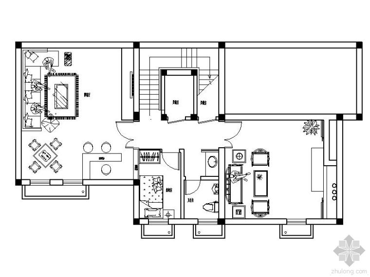 全套别墅装修施工图