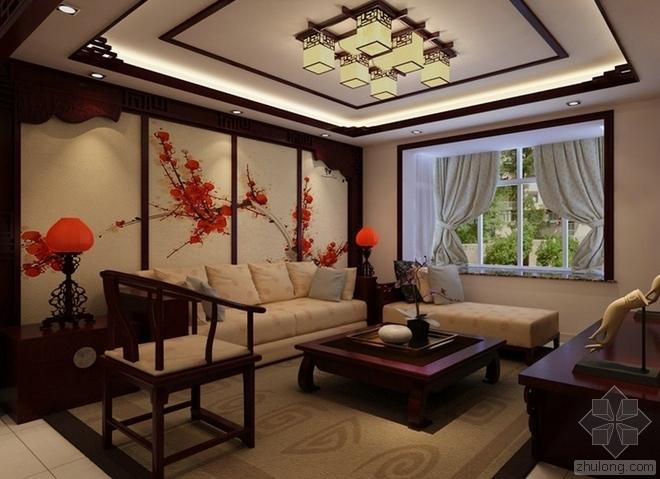 中式古典家具营造中式古典风格居[四合茗苑]