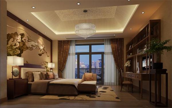 赋予现代居家环境古韵悠长的中式古典别墅设计----[四合茗苑]