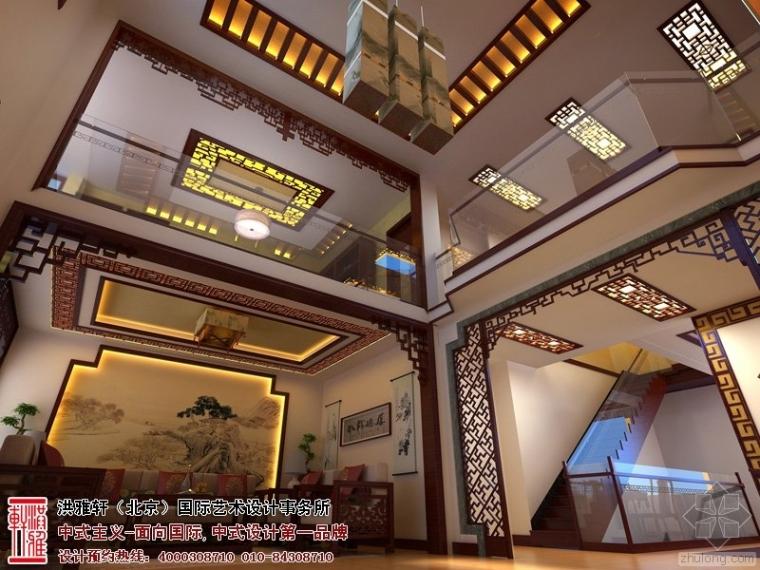 永济别墅中式装修效果图 感受高雅超凡的生活魅力