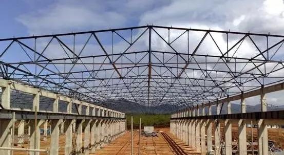 解析:大跨屋架结构