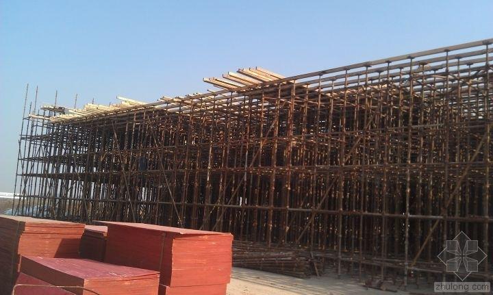 箱梁支架现场浇筑施工全过程图解