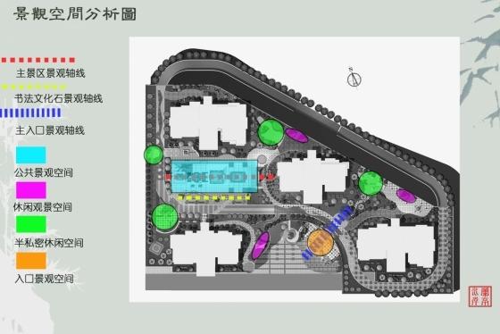 兰亭水岸居住小区景观规划设计_4
