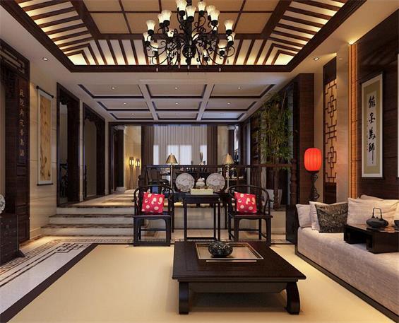 巧鉴紫檀木中式家具 打造完美别墅装修|四合茗苑
