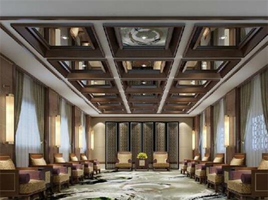 经典社区会所设计中建筑装饰元素与造园元素融合技巧|四合茗苑