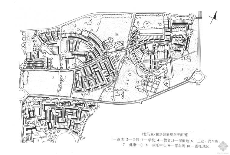 居住区详细规划设计(学习案例)