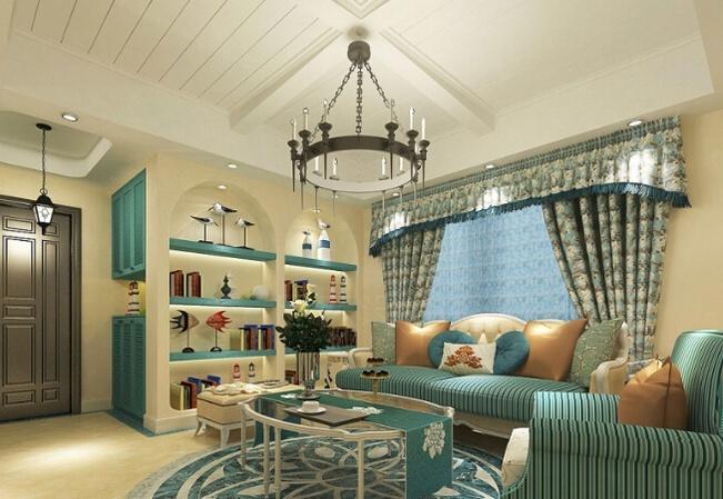 小清新 地中海风格别墅室内设计