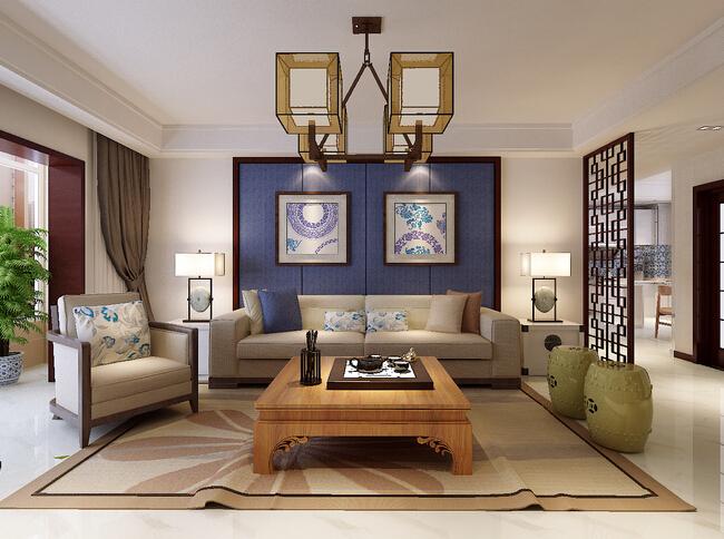 醉青花——尽情展现清新淡雅的别墅设计风格之美