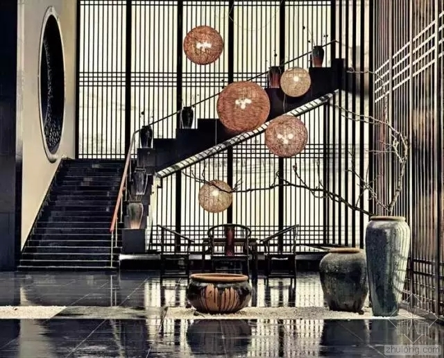中式风酒店效果图分享