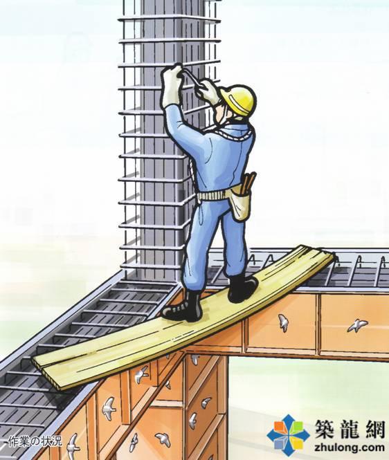 [漫画]建筑钢筋工程危险预知训练图例集