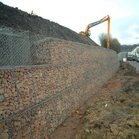 中建格宾网重力式挡墙网|格宾网石笼护坡专用于各大中小河流治理